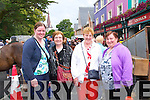 A day out to the tradtional fair day in Kenmare on August 15th. <br /> L-R Noreen and Peg O'Keeffe, Maisie McCarthy and Margaret Brosnan all from Currow.