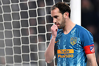 Diego Godin of Atletico Madrid reacts during the Uefa Champions League 2018/2019 round of 16 second leg football match between Juventus and Atletico Madrid at Juventus stadium, Turin, March, 12, 2019 <br />  Foto Andrea Staccioli / Insidefoto