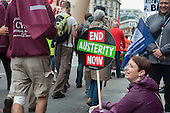 End Austerity Now, national demonstration organised by the People's Assembly, London.