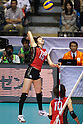 Maiko Kano (JPN), November 16,2011 - Volleyball : FIVB Women's World Cup 2011, 4th Round match between Japan 3-0 Kenya at Yoyogi 1st Gymnasium, Tokyo, Japan. (Photo by Daiju Kitamura/AFLO SPORT) [1045]