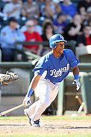 Jarrod Dyson, Kansas City Royals 2010 minor league spring training..Photo by:  Bill Mitchell/Four Seam Images.
