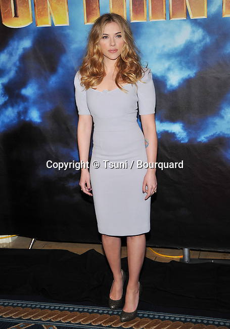 Scarlett Johansson _33   -<br /> IRON MAN 2 Photo Call at the Four Seasons Hotel In Los Angeles.