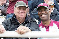 Fans in good spirits despite the weather conditions at the  Ageas Bowl during South Africa vs West Indies, ICC World Cup Cricket at the Hampshire Bowl on 10th June 2019