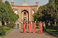 Entry to Humayun's Tomb, Delhi, India