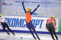 "SHORT TRACK: MOSCOW: Speed Skating Centre ""Krylatskoe"", 14-03-2015, ISU World Short Track Speed Skating Championships 2015, Daan BREEUWSMA (#146 | NED), ©photo Martin de Jong"