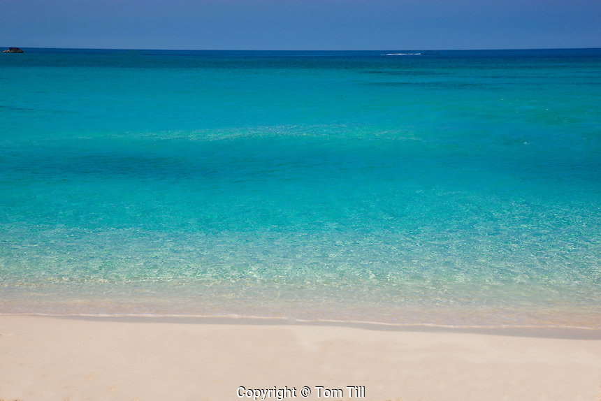Beach on Great Stirrup Cay  Grand Bahama Island, Bahamas  Caribbean Sea