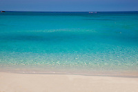 Beach on Great Stirrup Cay  Grand Bahama Island, Bahamas  Caribbean Sea