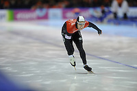 SCHAATSEN: HEERENVEEN: Thialf, World Cup, 03-12-11, 500m A, William Dutton CAN, ©foto: Martin de Jong