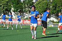 Seattle, WA - Saturday June 24, 2017: Sydney Leroux during a regular season National Women's Soccer League (NWSL) match between the Seattle Reign FC and FC Kansas City at Memorial Stadium.