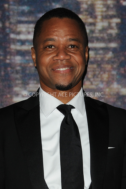 WWW.ACEPIXS.COM<br /> February 15, 2015 New York City<br /> <br /> Cuba Gooding Jr. walking the red carpet at the SNL 40th Anniversary Special at 30 Rockefeller Plaza on February 15, 2015 in New York City.<br /> <br /> Please byline: Kristin Callahan/AcePictures<br /> <br /> ACEPIXS.COM<br /> <br /> Tel: (646) 769 0430<br /> e-mail: info@acepixs.com<br /> web: http://www.acepixs.com