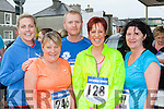 Competing in the Humphrey Kelleher memorial 5k in Castleisland on Friday evening were l-r: Janet rahilly, Chris O'Sullivan, Seamus Murphy, Caroline Martin and Sheila Lyons