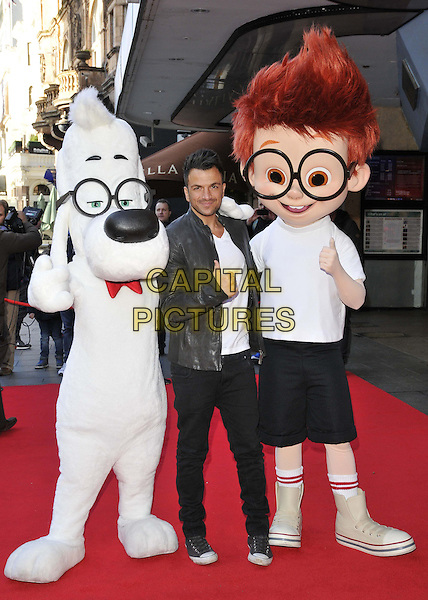 LONDON, ENGLAND - FEBRUARY 01: Pater Andre attends the &quot;Mr Peabody &amp; Sherman 3D&quot; VIP gala screening, Vue West End cinema, Leicester Square, on Saturday February 01, 2014 in London, England, UK.<br /> CAP/CAN<br /> &copy;Can Nguyen/Capital Pictures