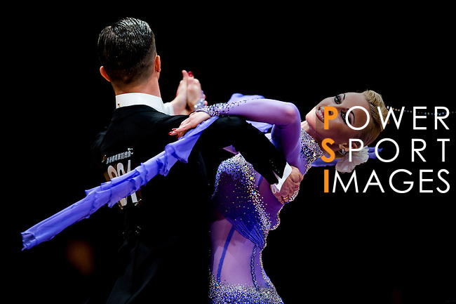 Anton Skuratov and Alena Uehlin of Germany during the WDSF GrandSlam Standard on the Day 2 of the WDSF GrandSlam Hong Kong 2014 on June 01, 2014 at the Queen Elizabeth Stadium Arena in Hong Kong, China. Photo by AItor Alcalde / Power Sport Images