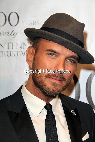 BEVERLY HILLS, CA - February 05: Matt Goss at Experience East Meets West honoring Beverly Hills' momentous centennial year, Crustacean, Beverly Hills, February 05, 2014.<br />