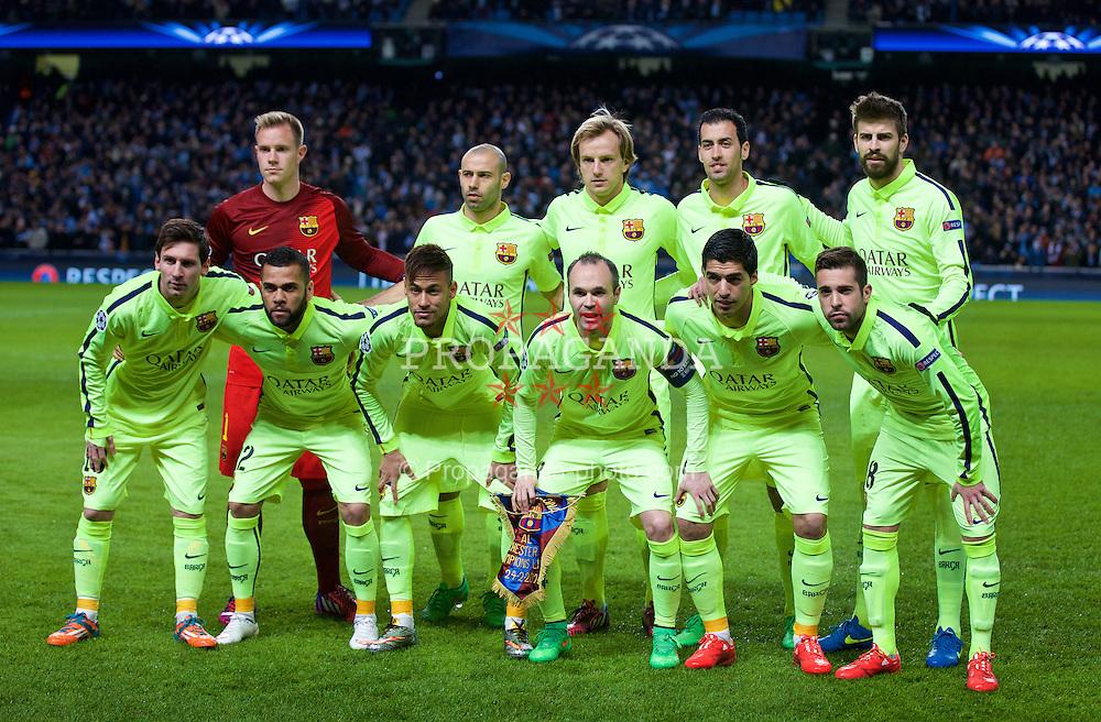 7de7185e5 European Football - UEFA Champions League - Round of 16 1st Leg -  Manchester City FC v FC Barcelona