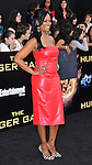 Garcelle Beauvais at premiere for The Hunger Games held at the Nokia Theatre L.A. Live Los Angeles, CA. March 12, 2012