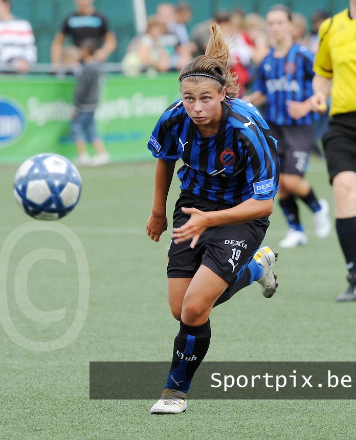 Dames Club Brugge : Shauni Thomas.foto VDB / BART VANDENBROUCKE