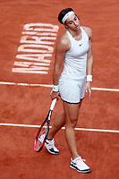 Caroline Garcia, France, during Madrid Open Tennis 2018 match. May 11, 2018.(ALTERPHOTOS/Acero) /NORTEPHOTOMEXICO
