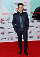 "LOS ANGELES, USA. November 17, 2019: Juan Minujín at the gala screening for ""The Two Popes"" as part of the AFI Fest 2019 at the TCL Chinese Theatre.<br /> Picture: Paul Smith/Featureflash"
