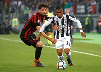 Douglas Costa of Juventus  during the  Coppa Italia ( Tim Cup) final soccer match,  Ac Milan  - Juventus Fc       at  the Stadio Olimpico in Rome  Italy , 09 May 2018