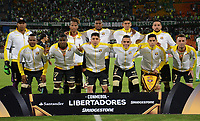 MEDELLIN  -  COLOMBIA - 25 - 05 - 2017: Los Jugadores de Barcelona, posan para una foto, durante partido de la fase de grupos, grupo 1 fecha 6, entre Atletico Nacional y Barcelona de Ecuador, por la Copa Conmebol Libertadores Bridgestone 2017, en el Estadio Atanasio Girardot, de la ciudad de Medellin./ The players of Barcelona, pose for a photo, during a match for the group stage, group 1 of the date 6th, between Atletico Nacional of Colombia and Barcelona of Ecuador, for the Conmebol Libertadores Bridgestone Cup 2017, at the Atanasio Girardot, Stadium, in Medellin city. Photos: VizzorImage / Leon Monsalve / Cont.
