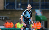 Paul Hayes of Wycombe Wanderers shouts orders during the Sky Bet League 2 match between Wycombe Wanderers and Luton Town at Adams Park, High Wycombe, England on 6 February 2016. Photo by Andy Rowland.