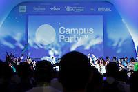 SÃO PAULO, SP. 07.02.2015 -  CAMPUS PARTY - Cerimônia de encerramento da oitava edição da Campus Party na noite desta sábado, (7). (Foto: Renato Mendes / Brazil Photo Press)