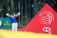 Julian Suri (USA) on the 17th tee during the 3rd round at the WGC HSBC Champions 2018, Sheshan Golf CLub, Shanghai, China. 27/10/2018.<br /> Picture Fran Caffrey / Golffile.ie<br /> <br /> All photo usage must carry mandatory copyright credit (&copy; Golffile | Fran Caffrey)