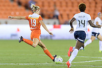 Houston, TX - Thursday Aug. 18, 2016: Tessa Florio during a regular season National Women's Soccer League (NWSL) match between the Houston Dash and the Washington Spirit at BBVA Compass Stadium.