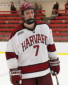 Danny Fick (Harvard - 7) - The Class of 2013 was celebrated following the final Harvard Crimson home game of the season on Saturday, March 2, 2013, at Bright Hockey Center in Cambridge, Massachusetts.