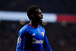 Inaki Williams of Athletic Club de Bilbao during the La Liga match between Atletico de Madrid and Athletic Club de Bilbao at Wanda Metropolitano Stadium in Madrid, Spain. October 26, 2019. (ALTERPHOTOS/A. Perez Meca)