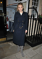Natalie Dormer at the &quot;Venus in Fur&quot; evening performance theatre cast stage door departures, Theatre Royal Haymarket, Suffolk Street, London, England, UK, on Monday 06 November 2017.<br /> CAP/CAN<br /> &copy;CAN/Capital Pictures