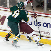 H.T. Lenz (UVM - 11) (Sit) - The Boston College Eagles defeated the University of Vermont Catamounts 4-1 on Friday, February 1, 2013, at Kelley Rink in Conte Forum in Chestnut Hill, Massachusetts.