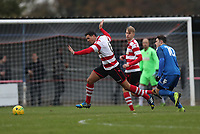 Tom Kavanagh of Kingstonian dodges a challenge during Kingstonian vs Lewes, BetVictor League Premier Division Football at King George's Field on 16th November 2019