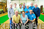 Bowls has become hugely popular in Kerry and clubs from different regions enjoyed a fun day last Thursday. <br /> Front L-R James Murphy, Eileen Rooney and Peter Williams. <br /> Back L-R Cathy Smith, Catherine O'Brien, Gisela Gloge, Patrick Murphy, Trisha Delvalle, Alan Shaw and Bob Stimson.