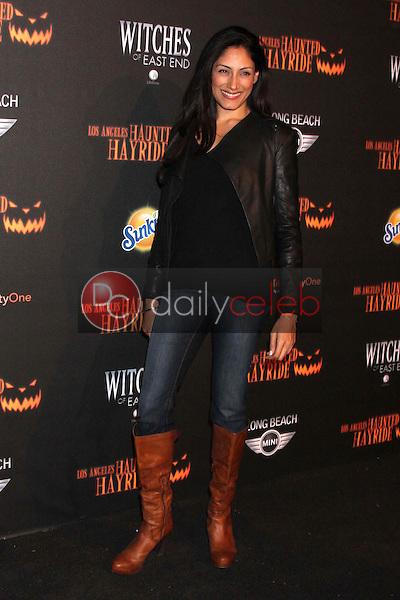 Tehmina Sunny<br /> at the 8th Annual LA Haunted Hayride Premiere Night, Griffith Park, Los Angeles, CA 10-10-13<br /> David Edwards/DailyCeleb.Com 818-249-4998