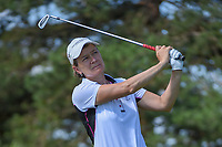 Catriona Matthew (SCT) watches her tee shot on 3 during round 1 of the 2018 KPMG Women's PGA Championship, Kemper Lakes Golf Club, at Kildeer, Illinois, USA. 6/28/2018.<br /> Picture: Golffile | Ken Murray<br /> <br /> All photo usage must carry mandatory copyright credit (&copy; Golffile | Ken Murray)