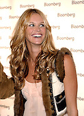 Elle McPherson arrives at the Bloomberg party following the 2005 White House Correspondents Dinner in Washington, D.C. on April 30, 2005..Credit: Ron Sachs / CNP.(RESTRICTION: No New York Metro or other Newspapers within a 75 mile radius of New York City)