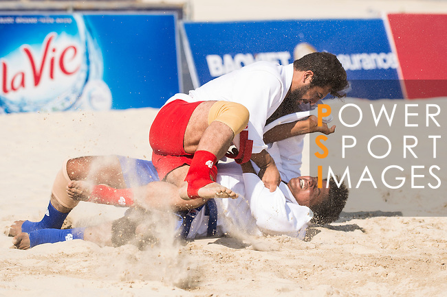 Sambo competition on Day Nine of the 5th Asian Beach Games 2016 at Bien Dong Park on 02 October 2016, in Danang, Vietnam. Photo by Marcio Machado / Power Sport Images