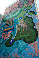 Hotel Boca Chica murals. Acapulco, Guerrero, Mexico