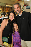 Brooke and Mike Mercer with their daughter Scarlett at the M.D. Anderson Back to School Fashion show at the Galleria Saturday Aug. 06,2016.(Dave Rossman Photo)