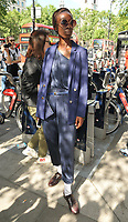 Eunice Olumide at the LFW (Men's) s/s 2019 What We Wear catwalk show, BFC Showspace, The Store Studios, The Strand, London, England, UK, on Monday 11 June 2018.<br /> CAP/CAN<br /> &copy;CAN/Capital Pictures