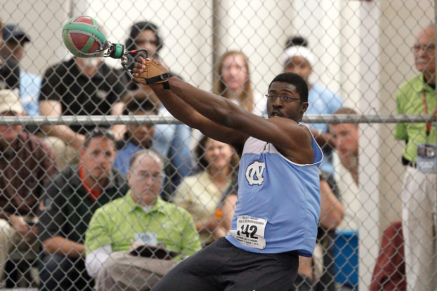 North Carolina's Dontrevious Ousley (142)