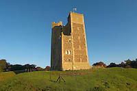 Norman Keep castle at Suffolk, Orford  East Anglia,England. Near Aldeburgh.