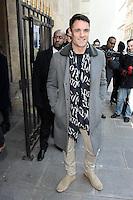 Dan Carter - DEFILE LOIS VUITTON HOMME AUTOMNE HIVER 2017-2018 LORS DE LA FASHION WEEK DE PARIS , 19 JANVIER 2017 - FRANCE