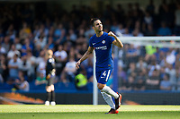 Chelsea's Cesc Fabregas celebrates scoring the opening goal          <br /> <br /> <br /> Photographer Craig Mercer/CameraSport<br /> <br /> The Premier League - Chelsea v Everton - Sunday 27th August 2017 - Stamford Bridge - London<br /> <br /> World Copyright &copy; 2017 CameraSport. All rights reserved. 43 Linden Ave. Countesthorpe. Leicester. England. LE8 5PG - Tel: +44 (0) 116 277 4147 - admin@camerasport.com - www.camerasport.com