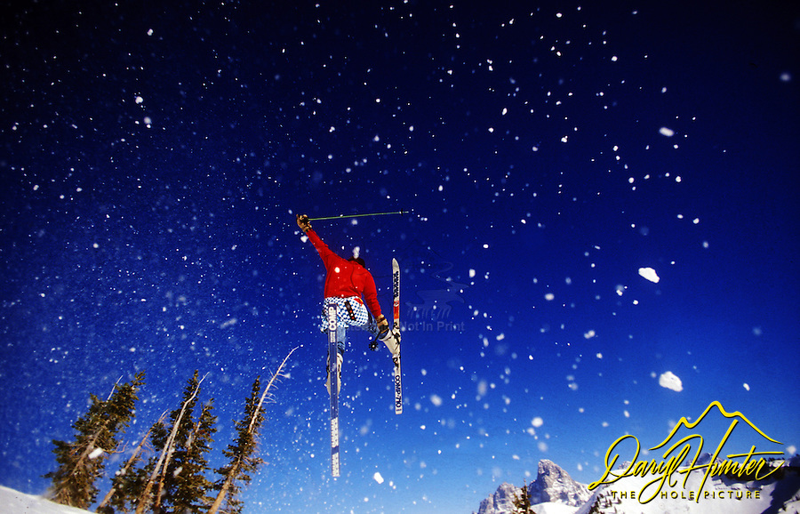 Ski Jumper, Grand Targhee Mountain Resort, Alta Wyoming