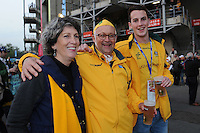 Wallabies fans enjoying the pre-match atmosphere before Match 26 of the Rugby World Cup 2015 between England and Australia - 03/10/2015 - Twickenham Stadium, London<br /> Mandatory Credit: Rob Munro/Stewart Communications