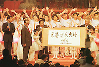 Hong Kong Handover, Ting Chee Hwa, The first Chief Executive of Hong Kong after the handover to China