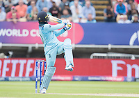 Jason Roy (England) is given out caught behind during Australia vs England, ICC World Cup Semi-Final Cricket at Edgbaston Stadium on 11th July 2019